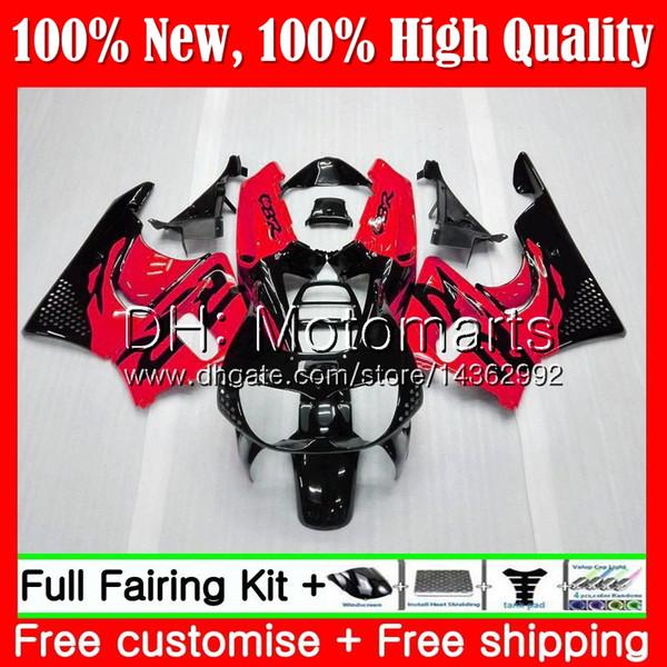 Body For HONDA CBR 893RR CBR900RR CBR893RR 94 95 96 97 New red black 71MT20 CBR 893 CBR900 CBR893 RR 1994 1995 1996 1997 Fairing Bodywork