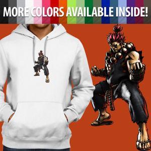 Street Fighter Akuma Gouki Classic Arcade Pullover Sweatshirt Hoodie Sweater