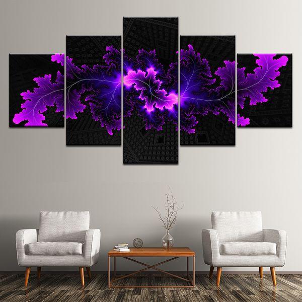 wall art decor for living room.htm 2020 frame 5 panel modular modern abstract flowers canvas oil  modular modern abstract flowers