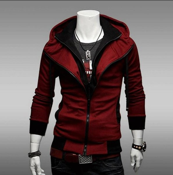 Envío gratis - NUEVO Assassin's Creed Desmond Style Velour Hoodie