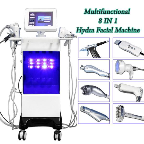 Elmas mikrodermabrazyon makinesi ultrasonik Hydra yüz makine taşınabilir derin yüz peel cihazı hydrafacial cilt temizleme skar çıkarmadan