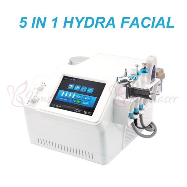 5 em 1 hidro dermoabrasão bio microcorrente purificador de água microdermoabrasão pistola de oxigênio remoção de cravo remoção de acne remoção spa salon