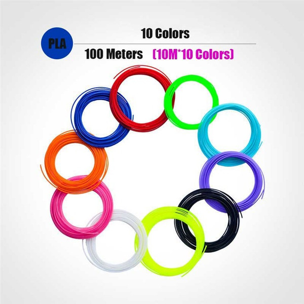 100M PLA 10 لون