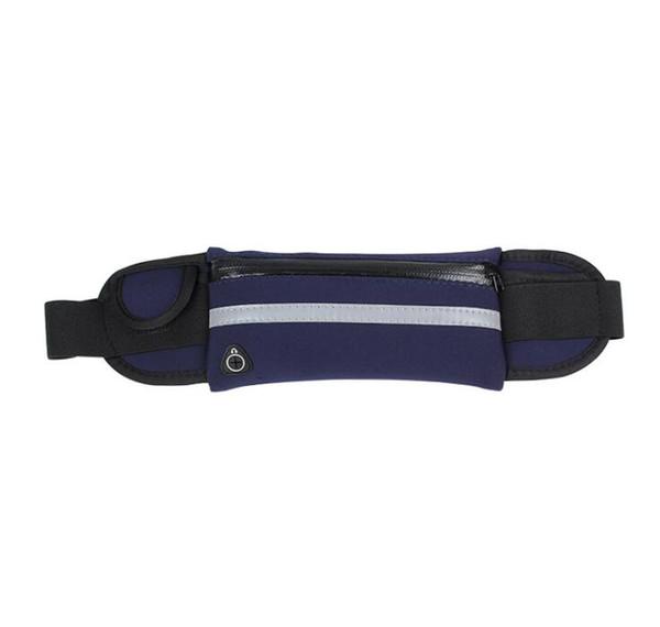 Outdoor Running Waist Bag with water holder Waterproof Phone bag Holder Jogging Belt Women GymBag Fitness Sports bag
