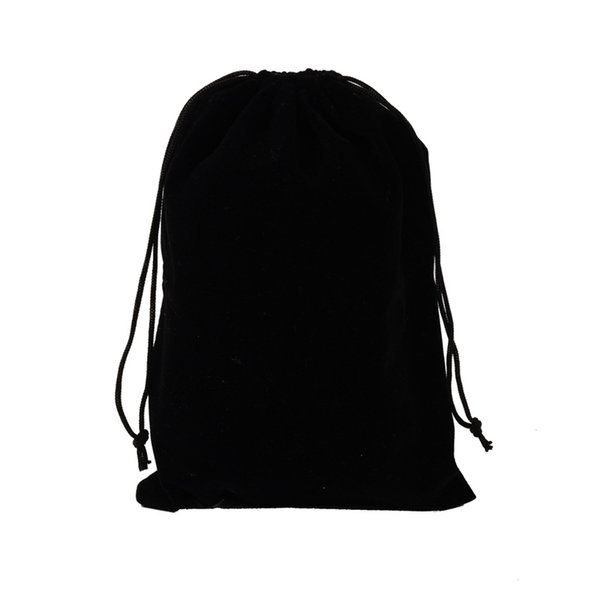 Black Velvet Drawstring Gifts Bags Wedding Birthday Party Favors Packaging Sack Bag Jewelry Pouches Drurable Pouch