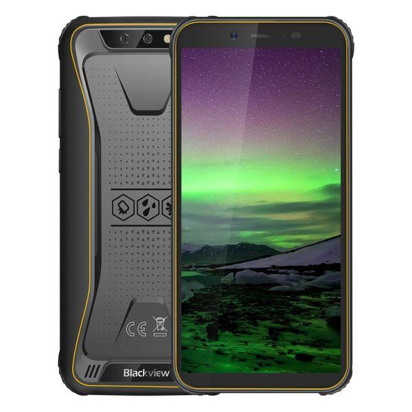 "Blackview Original BV5500 5.5"" IP68 Waterproof Rugged Smartphone 2GB+16GB Android 8.1 Dual SIM 4400mAh 18:9 Outdoor Mobile Phone"