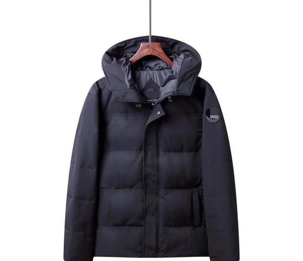 NOUVEAU homme Canada bref parag Down Jacket Mens manteaux en duvet extérieur Réchauffez en plumes d'oie d'hiver Veste Manteaux Vestes Parkas Taille S-2XL