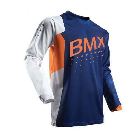 2019 New New Quick Dry Downhill Jersey Grigio Rosso Nero Moto GP Mountain Bike T-Shirt Motocross bike Jersey BMX DH Abbigliamento ciclismo