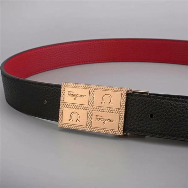 Nineteen New Fashion Belt Men's Fashion 100 Belts Big Button Belt Hip-hop Fashion Men's Belt Wholesale Free Freight