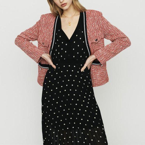 2019 Spring Summer New Casual Jacket Sweet Lady V Neckline Top Coat Jackets M1516