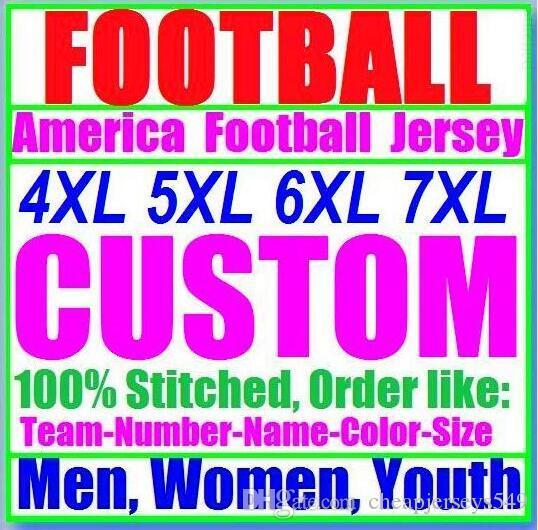 Personalized american football jerseys Custom Seattle Oakland college authentic cheap baseball basketball mens womens youth USA 4xl first