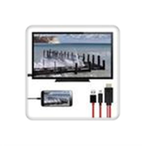 Micro usb para hdmi 1080 p hd adaptador de cabo de tv para telefones android 11pin 184 cm de hdmi para mhl frete grátis