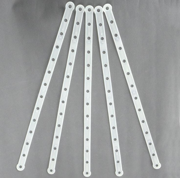 best selling Plastic Hanger Connectors Strip For Fashion Clothes Shop DIY Part Material Clothing Connection Strip and Strap SN3464