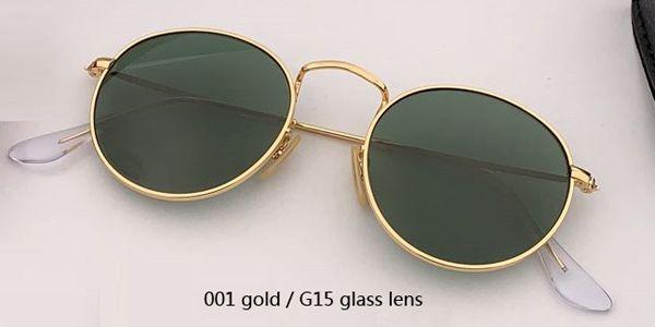 001 ouro / verde clássico G15