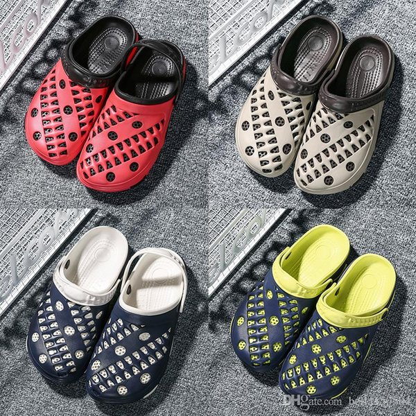 designer Sandals Summer Shoes Men Sandals Brand Slippers Men Beach Sandals Outdoor Slip On Mens Slippers Hole Shoes best QUALITY
