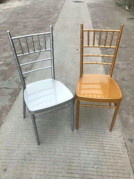 120pc hipping by ea gold metal chiavari wedding chair with cu hion