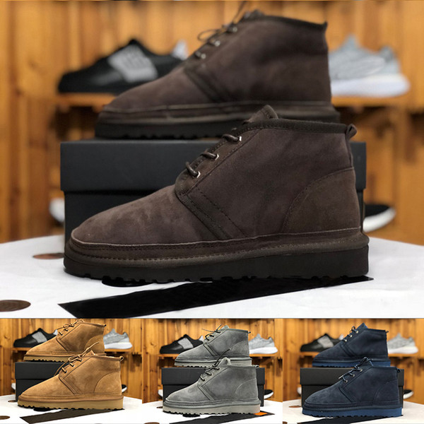 Оптовая австралийский оригинальный бренд мужские ботинки снега шерсть обувь овч