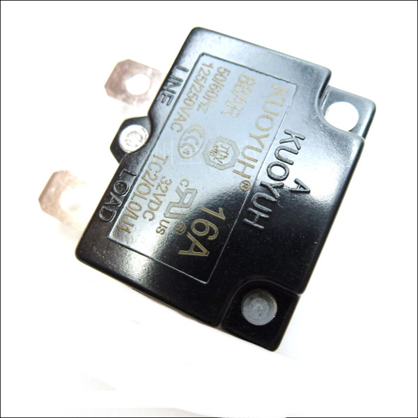 top popular Taiwan KUOYUH 88AR-16A Overcurrent Protector Overload Switch Automatic Reset 2021