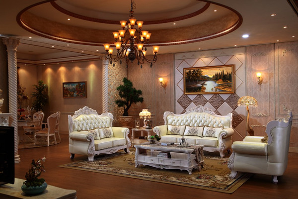 2019 Luxury Italian Oak Solid Wood Leather Sofa Set With Armchair Living  Room Furniture From China PRF935 From Procarefoshan, $3535.68 | DHgate.Com