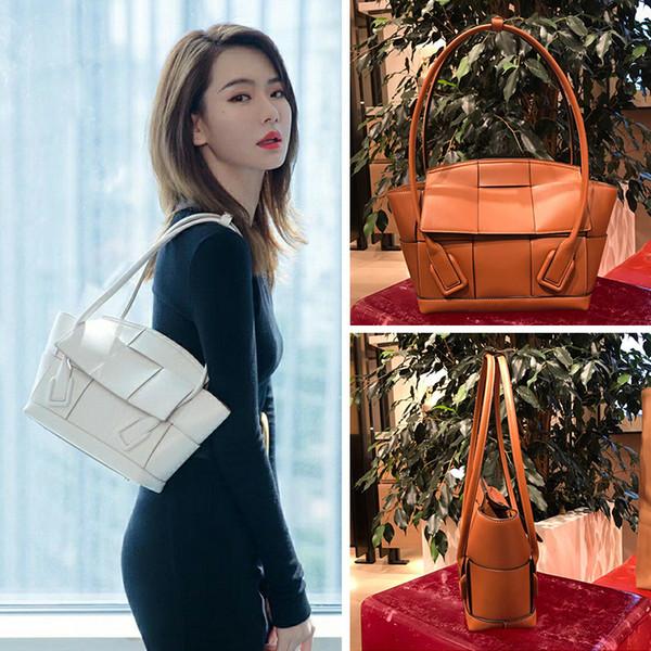Angel2019 Qi Frau Wei Catfish Wing Echtes Leder Ma'am Tragbare Unterstützung Sonderpaket Wird Tasche