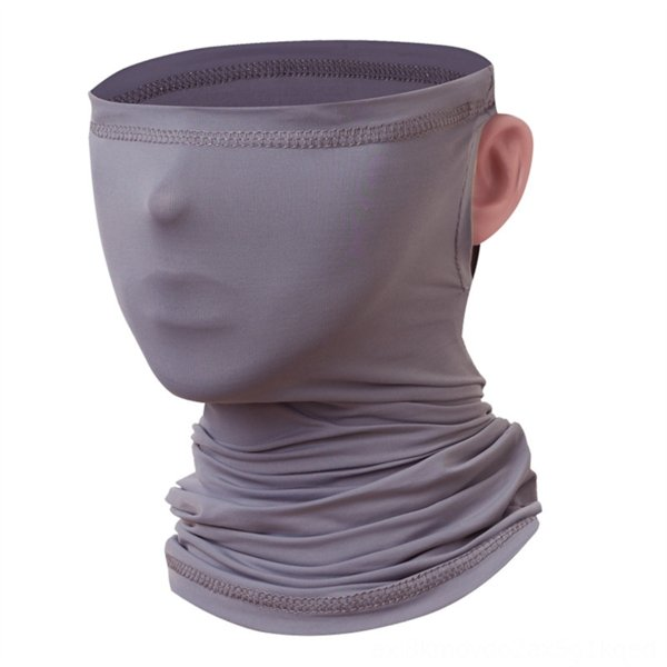ear-hanging scarf [dark gray]]