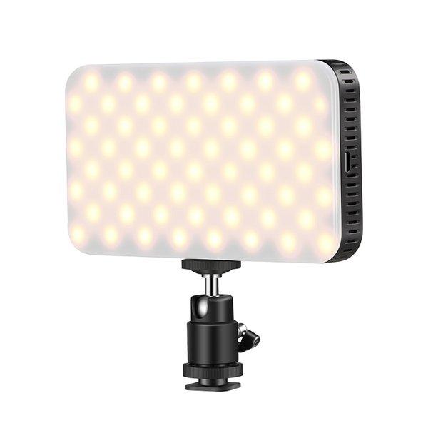 LED 2700-6500K LED luz de Vídeo para DSLR Camera Filmadora Luz de Enchimento para o Casamento Notícias Entrevista Macro fotografia