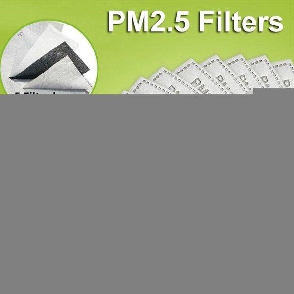 5pcs filtres 2.5pm