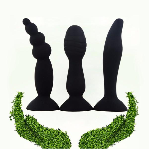 Feminino Masturbador Dildo Anal Beads Butt Plug Stopper G-Spot Estimulação Anal Sex Toys Para Mulheres Produtos para Adultos