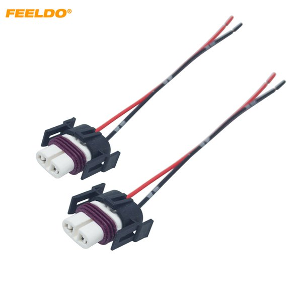 2019 car headlight ceramic socket wire connector for h11 h8 h9 880 881 led hid light wiring harness plug 5942 from feeldogd, $6 73 dhgate com hid headlight relay wiring diagram light wiring harness kit tuff stuff