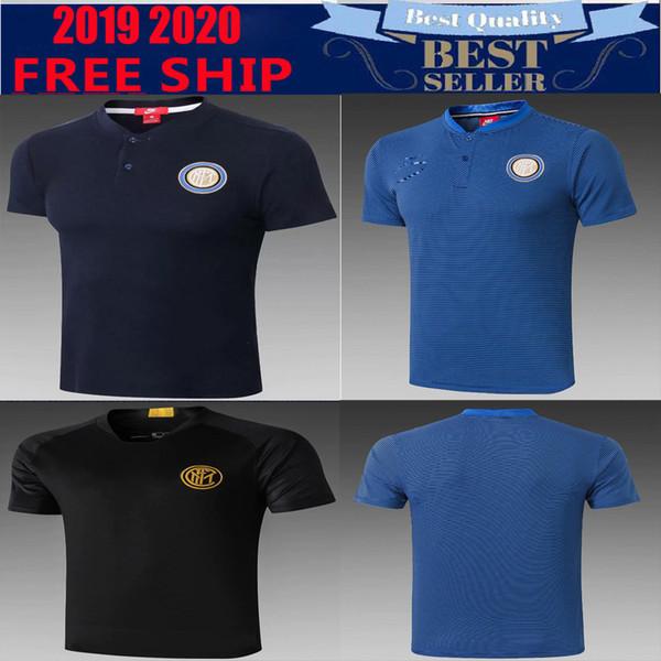 2019 2020 Ev Mavi Futbol Jersey 20 polo Gömlek 2018 Futbol Üniforma Satış