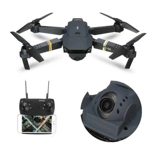 E58 pieghevole WIFI FPV RC Quadcopter Drone con 1080P 5.0MP fotocamera selfie Drone giocattoli di telecomando