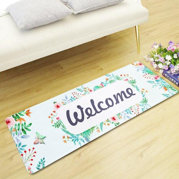 Tapis de sol imprimé de bande dessinée 3D créatif anti tapis de plancher de glissement pour des tapis de porte d'entrée de tapis de décor de tapis de décoration