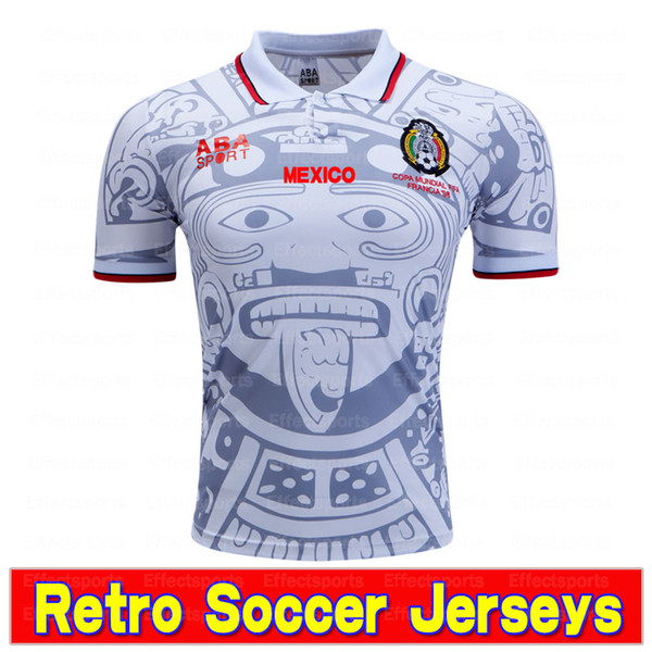 Retro Mexico Blanc Non Nom