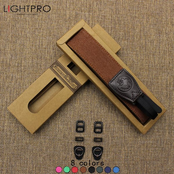 ccessories Parts Camera Ethnic Style Photo Camera Shoulder Belt Adjustable Chamude DSLR Neck Strap Jean Cowhide Material Belt Non-slip ...