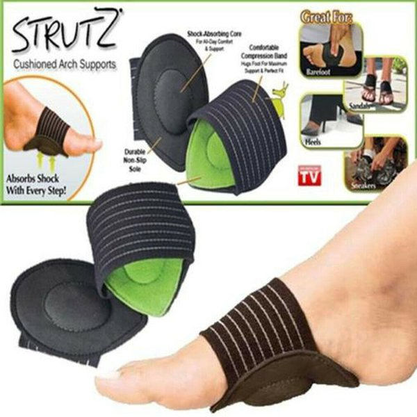 Ayak Kemer Destek Plantar Fasiit Topuk Ağrısı Yardım Ayak run-up Pad Ayak Minderli Yastıklı Ayakkabı Astarı Spor Aksesuar sıcak