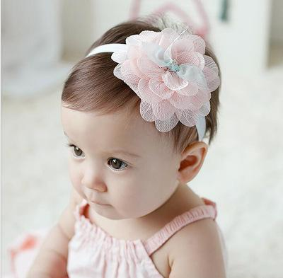 Baby Mädchen Stirnband Infant Haarschmuck Kleidung Band Floral Neugeborenen Headwear Tiara Headwrap Geschenk Kleinkinder Blume