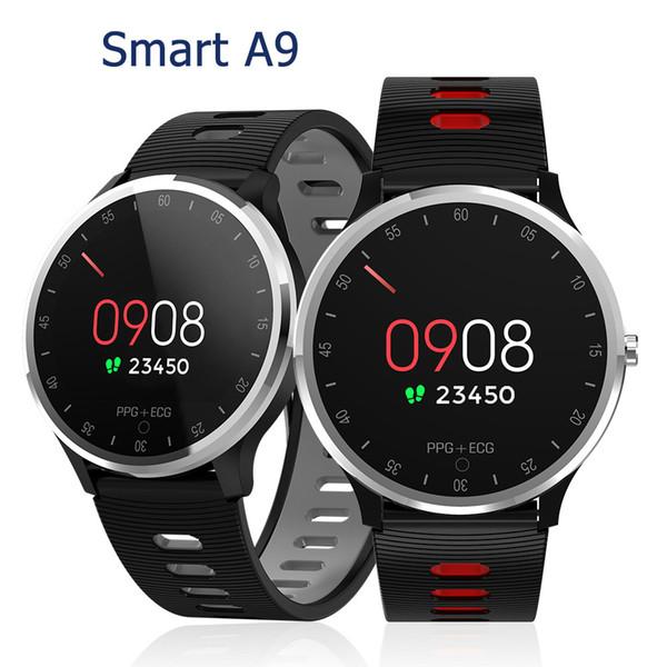 A9 pulseras inteligentes reloj rastreador de ejercicios monitor de ritmo cardíaco Banda Muñequera SmartWatch PK ID115 PLUS M3 para Android iPhone