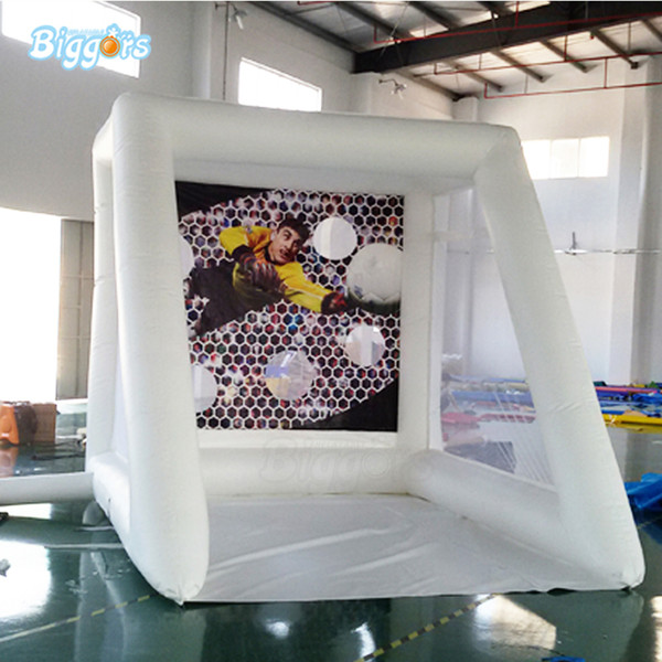YARD Commercial 0.55mm PVC Tarpaulin Inflatable Soccer Gate Football Kick Shooting Game For Sale