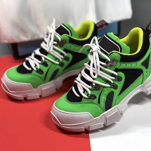 2019 new Flashtrek Designer Shoes Unisex Comfortable suede, mesh cotton with a wear-resistant rubber outsole Mens Womens Shoes S08