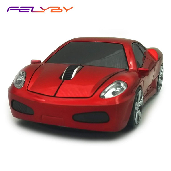 FELYBY BKL22 Wireless Car Mouse 1600DPI 2.4GHz Optical Gaming Mouse Cool Sport Car Wireless