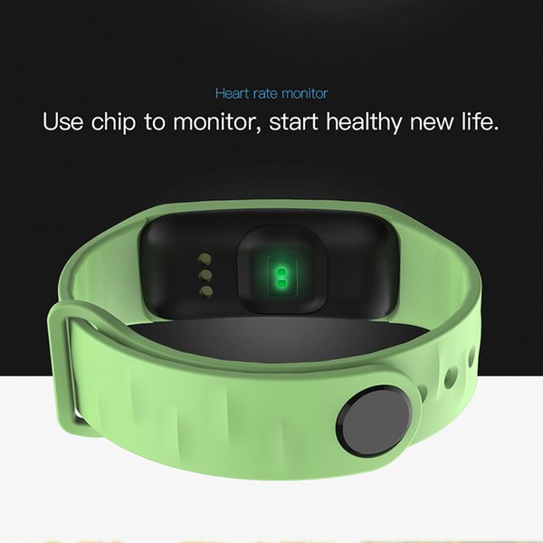 Coxang C1s Wearfit Smart Bracelet Blood Pressure Fitness Tracker Smart Band  Pedometer Activity Tracker Sport Wristband Fit Watch J190522 Silicon