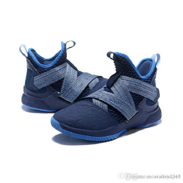 best service 8412a 63756 2019 Cheap Lebron Soldier 12 Mens Basketball Shoes For Sale Lebrons Xii 9  MVP Christmas BHM Oreo Youth Kids Sneakers Boots With Original Box From ...