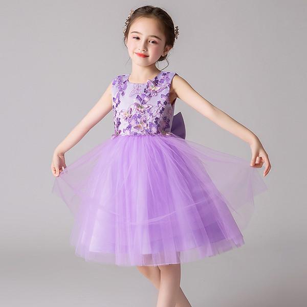 Children princess dress 2019 summer wedding dress kindergarten children in the pengpeng skirt costume