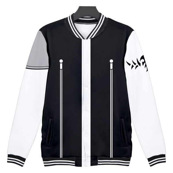 Frdun NEW 3D FAIRY TAIL trend Casual Long Sleeve Baseball Jacket Women Clothes 2018 Hip Hop Kpop Harajuku Tops Plus Size