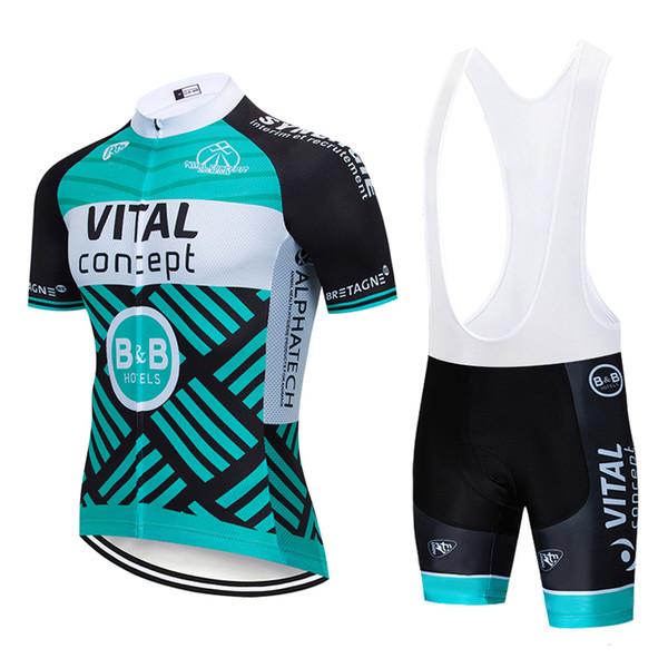 Hot 2019 NEW vital orange CYCLING JERSEY 12D bike shorts set Ropa Ciclismo MENS summer quick dry BICYCLING Maillot pants clothing