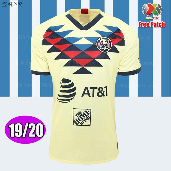 Club America 2019/20 Home con MX Patch