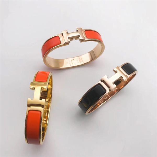 Горячие продажи Высокое качество нержавеющей стали марки 316L браслет с H панк-браслет для мужчин и женщин браслет подарок ювелирных изделий Бесплатная доставка
