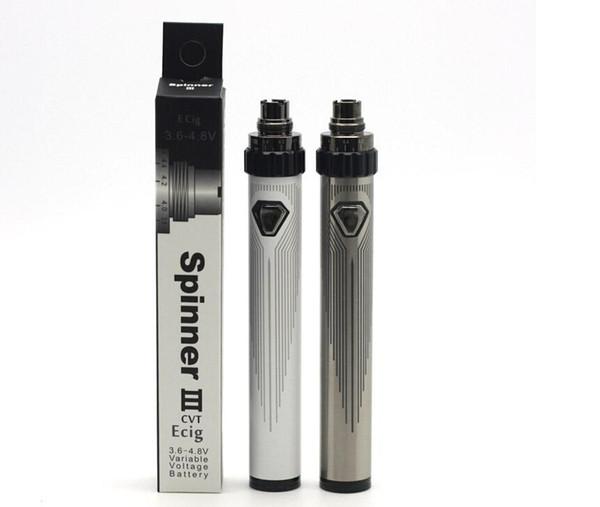 Gran calidad ESAM-T 1300mAh ESAM-T 1600MAh Batería 3.6V-4.8V Voltaje variable eGo-C Twist Battery Mejor que Vision Spinner 2 3 Tesla