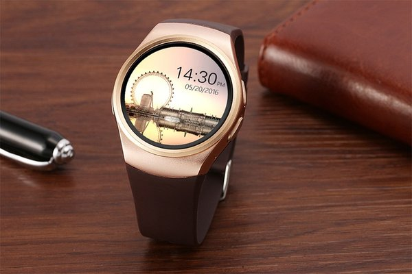 KW18 Bluetooth Smart Watch Hommes Femmes Support Moniteur de Fréquence Cardiaque SIM LET 3G 16GB Carte TF Smartwatch pour Android IOS