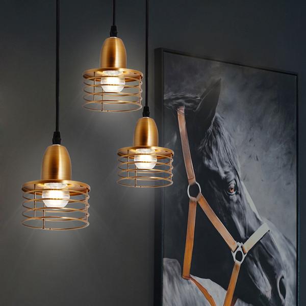 2019 New 40W Industrial Retro Style Pendant Light Lamp E27 Base Socket Holder for Bedroom Living Room Study Room Cafe Restaurant